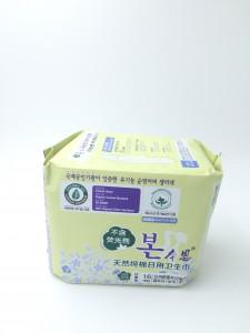韓國有機純綿衛生巾(日用24cm)